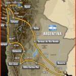 Así será el Dakar 2015