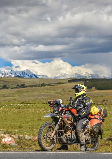 La Cordillera Blanca.