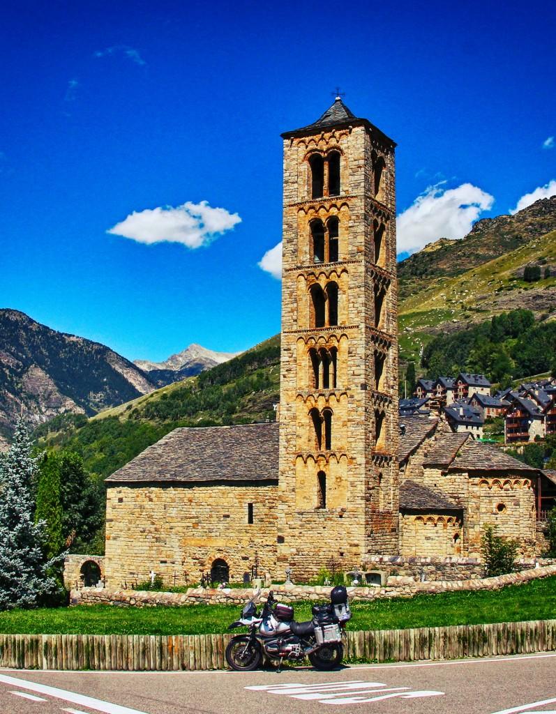 El conjunto románico de la Vall del Boí es Patrimonio de la Humanidad.
