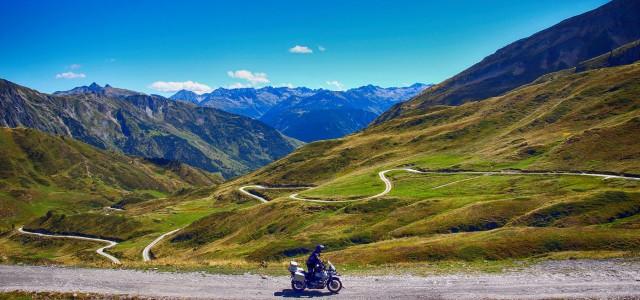 En moto por el Valle de Arán