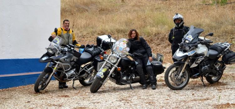 Off road en Portugal… ¡con una custom!