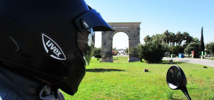 En moto tras las huellas del Imperio Romano