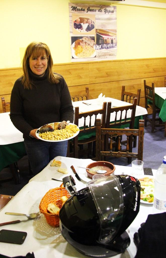 Cocido sanjuaniego en Fontiveros. Ruta en Harley por Ávila, Segovia y Valladolid