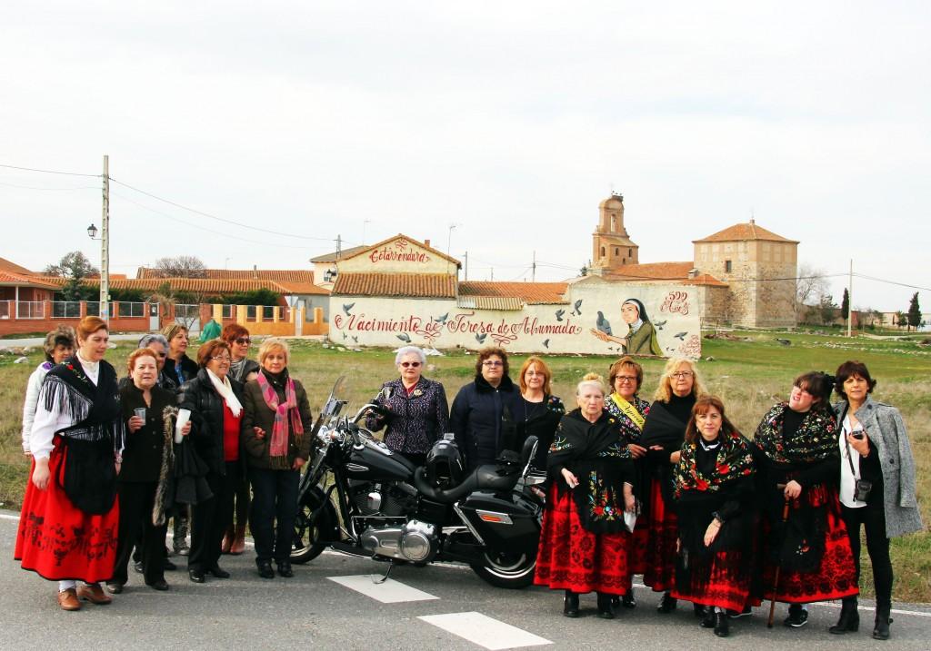 Gotarrendura. Ruta en Harley por Ávila, Segovia y Valladolid
