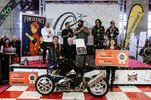 MotoMadrid: concurso de constructores, ganador y jurado (foto de MotoMadrid)