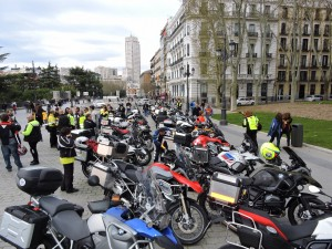Rodando contra el Cáncer. Reunión de delegados en Madrid