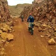 Emulando al Dakar