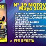 Nº 19 Motoviajeros // Mayo 2016