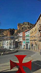 PENASCO Y CASTILLO EN RUINAS DE LIBROS