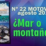 Nº 22 Motoviajeros // Agosto 2016