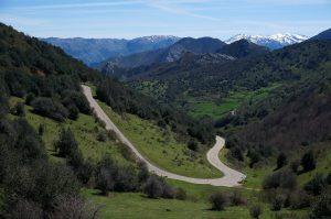 Mapa Ruta Hacia el corazón de los Alpes Tuizos