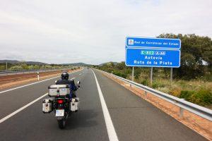 Vía de la Plata: autovía A-66