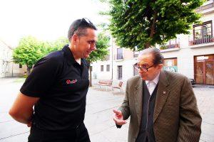 Vía de la Plata: conversando con Herminio Ramos.