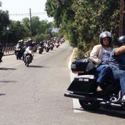 "Medio millar de motos ""toman"" Guadarrama"