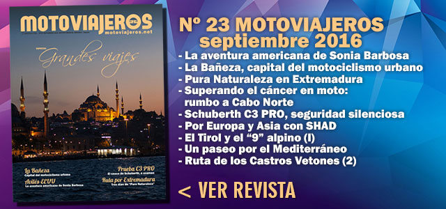 Nº 23 Motoviajeros // Septiembre 2016