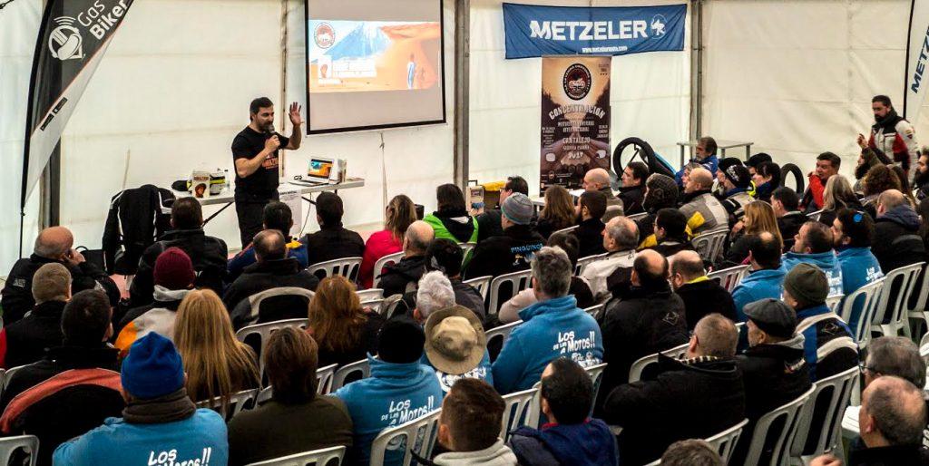 Presentación del libro 'Amazigh, en moto hasta el desierto' (Fotografía: Kike Borrás)