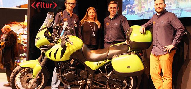 La moto, muy presente en Fitur 2017
