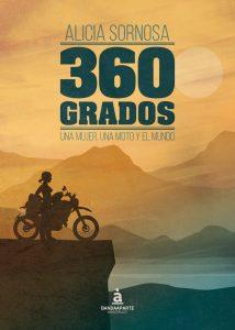 Alicia Sornosa, con su novela 360 grados
