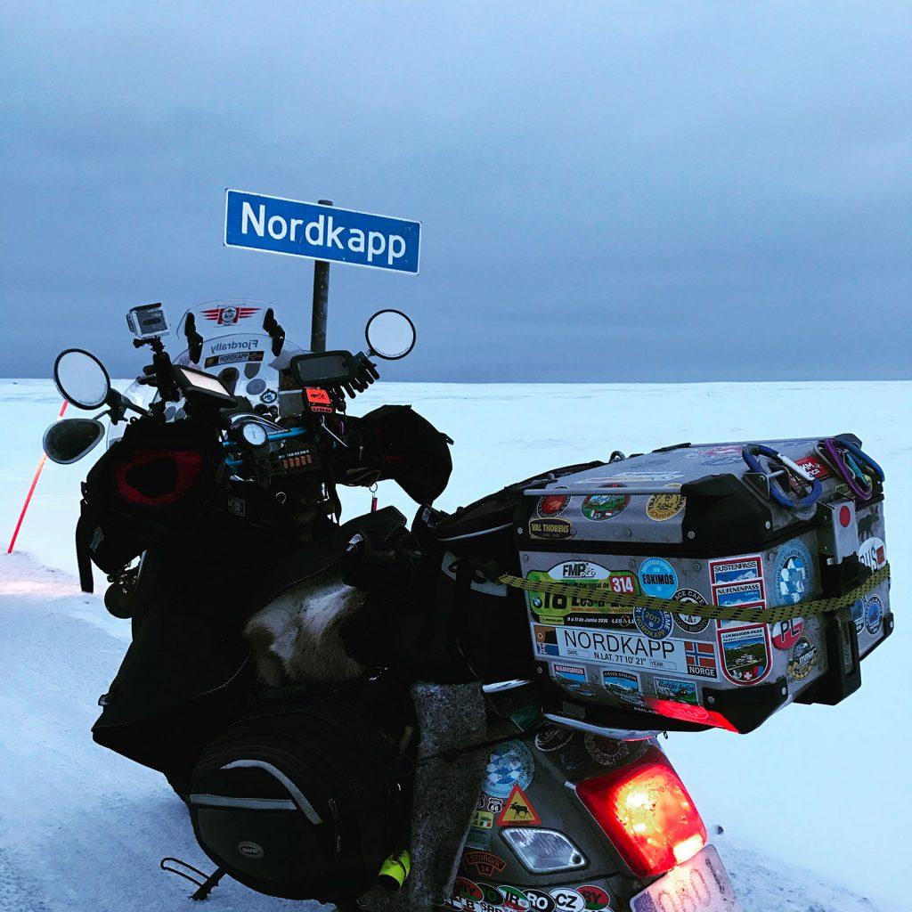 JAF - En Vespa a Nordkapp