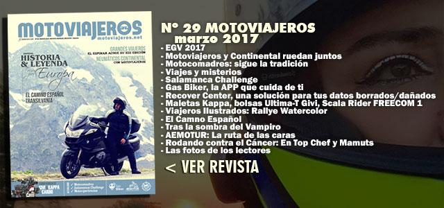Nº 29 Motoviajeros // Marzo 2017