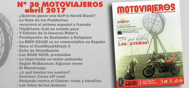 Nº 30 Motoviajeros // Abril 2017