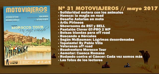 Nº 31 Motoviajeros // Mayo 2017