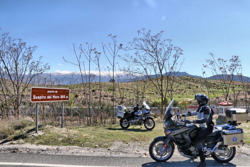 Puerto de Suspiro del Moro.