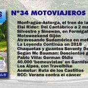 Nº 34 Motoviajeros // Agosto 2017