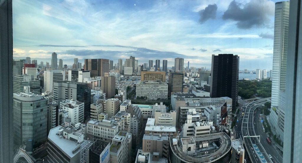 Mc Bauman en Japón: Vistas de Tokio.