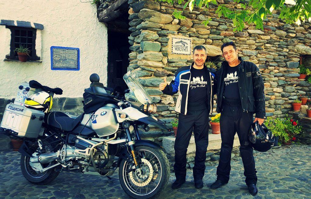 La Alpujarra en moto. Alquería de Morayma.
