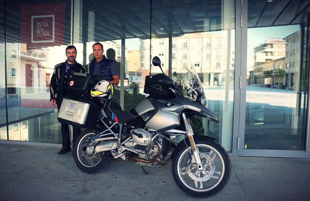 Ruta Vía de la Plata - Guijuelo: jamón... ¡y motos!
