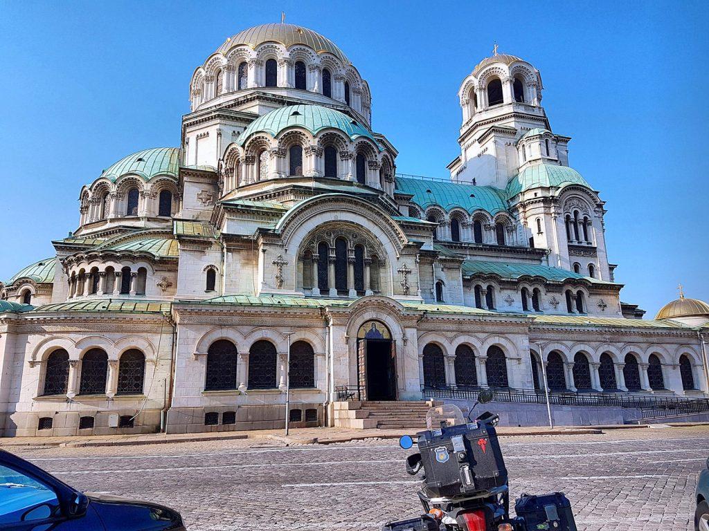 Catedral de Alejandro Nevski en Sofía, Bulgaria.