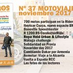 Nº 37 Noviembre // Motoviajeros 2017