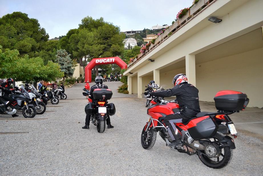 DosMares, el rally de Ducati.