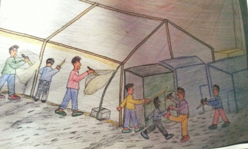 Abrigos para Calais.