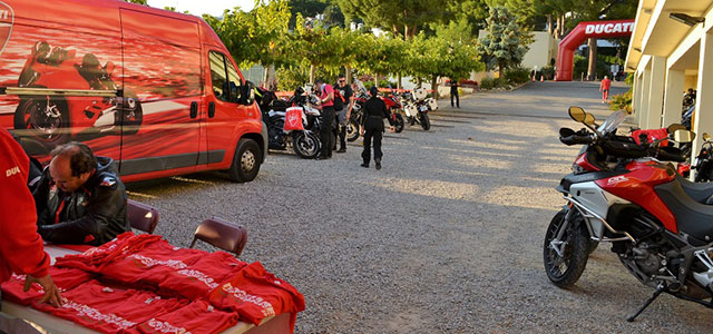 DosMares, el rally de Ducati