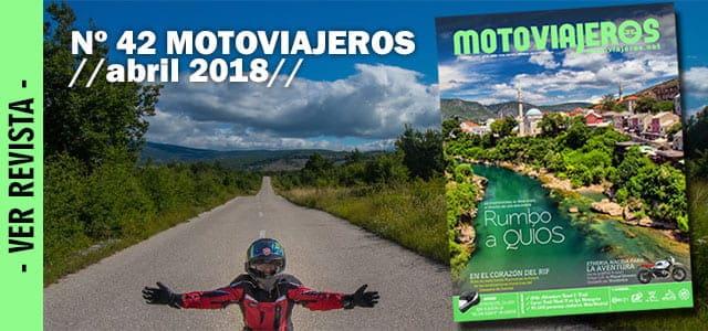 Nº 42 Abril // Motoviajeros 2018