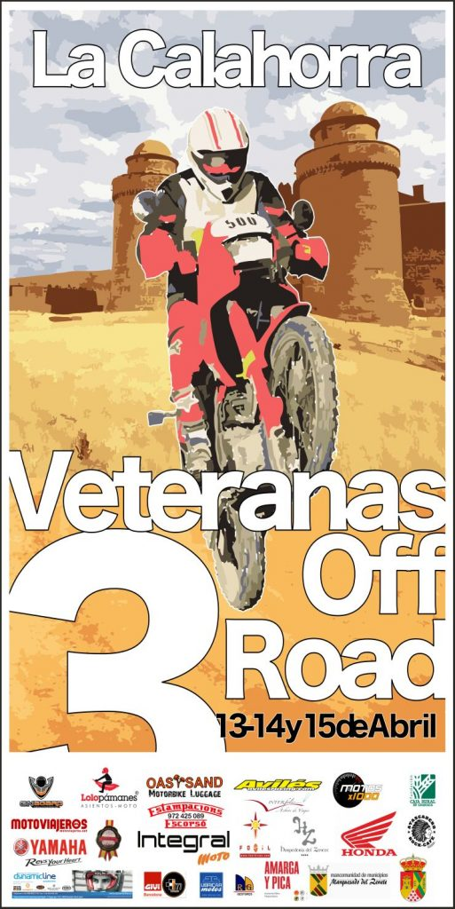 Cartel Anunciador del Veteranas Off Road 2018