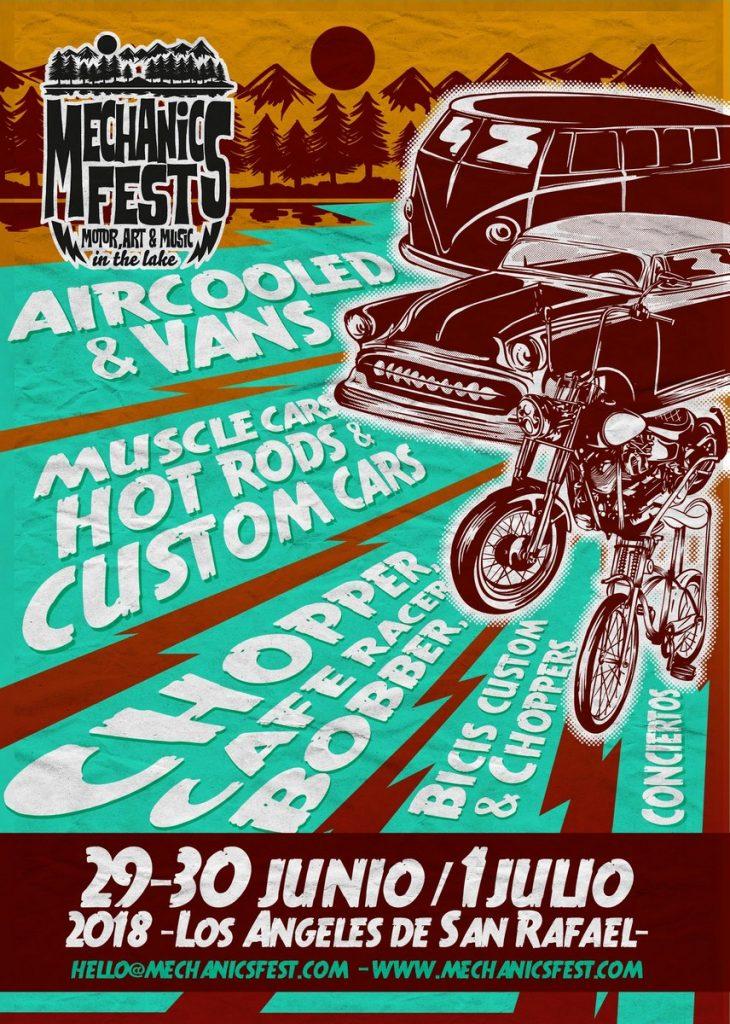 Mechanics Fest: motor, arte y música en Los Ángeles de San Rafael (Segovia)