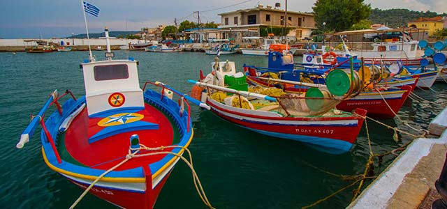 De Pontevedra a la isla de Quíos