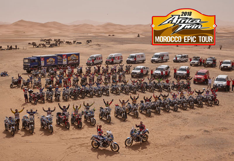 Africa Twin Morocco Epic Tour 2018