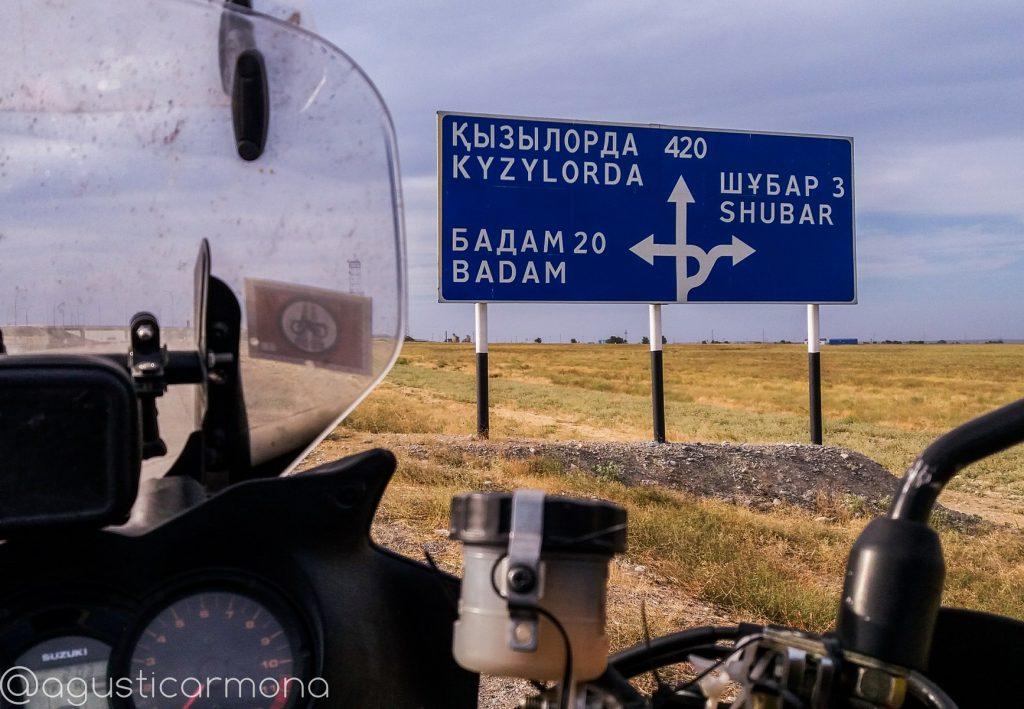 En solitario por Asia Central.