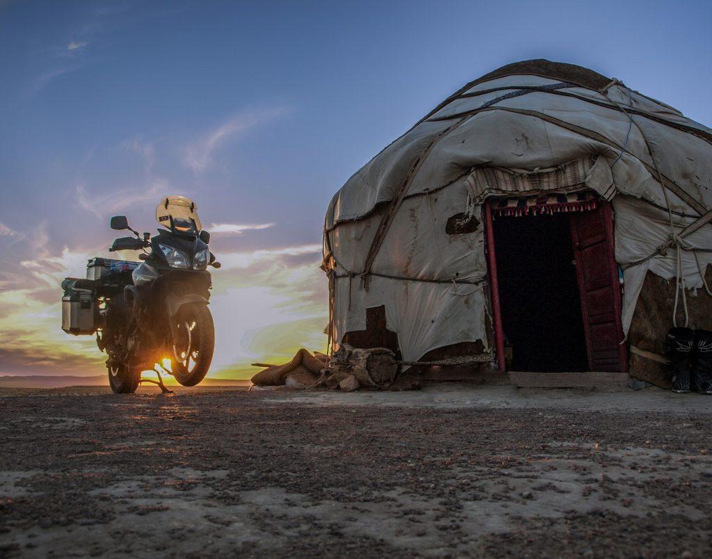 En solitario por Asia Central
