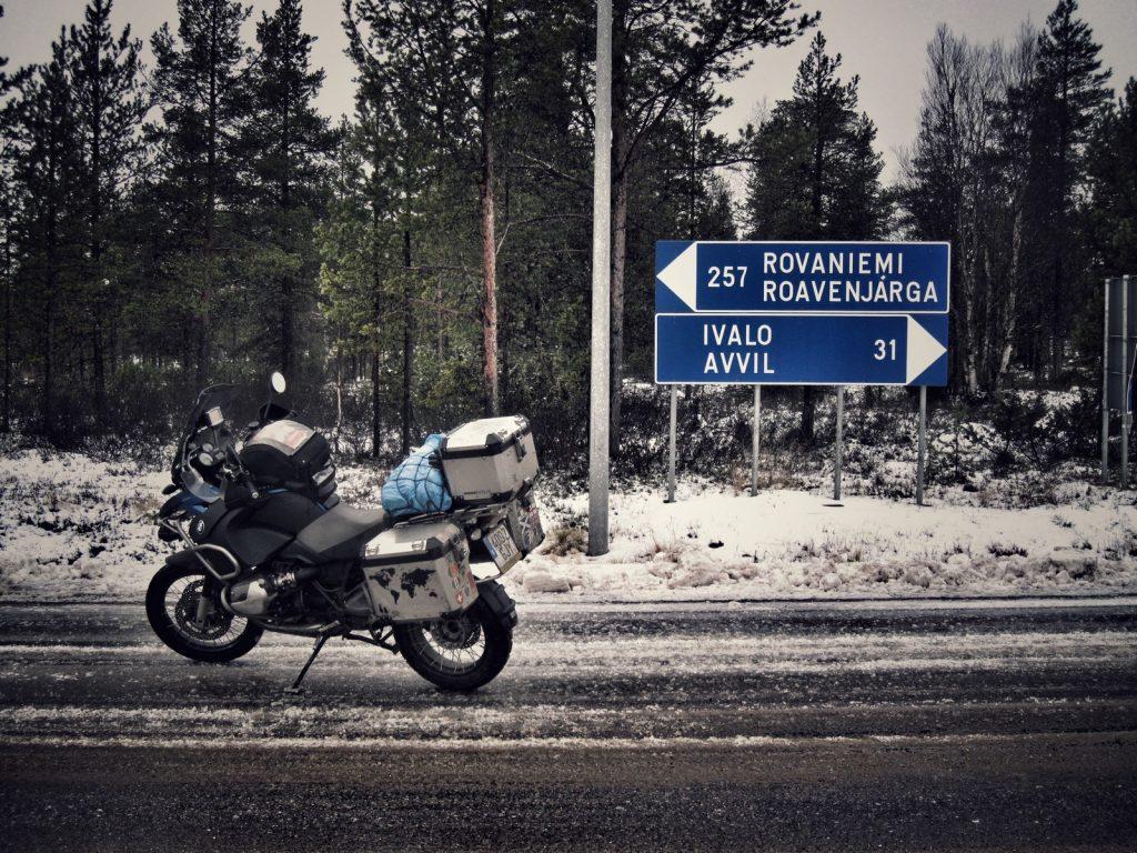 Dándome la vuelta en Finlandia