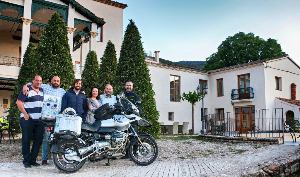 Con Indira Amaya, Edgar Ameglio y amigos.