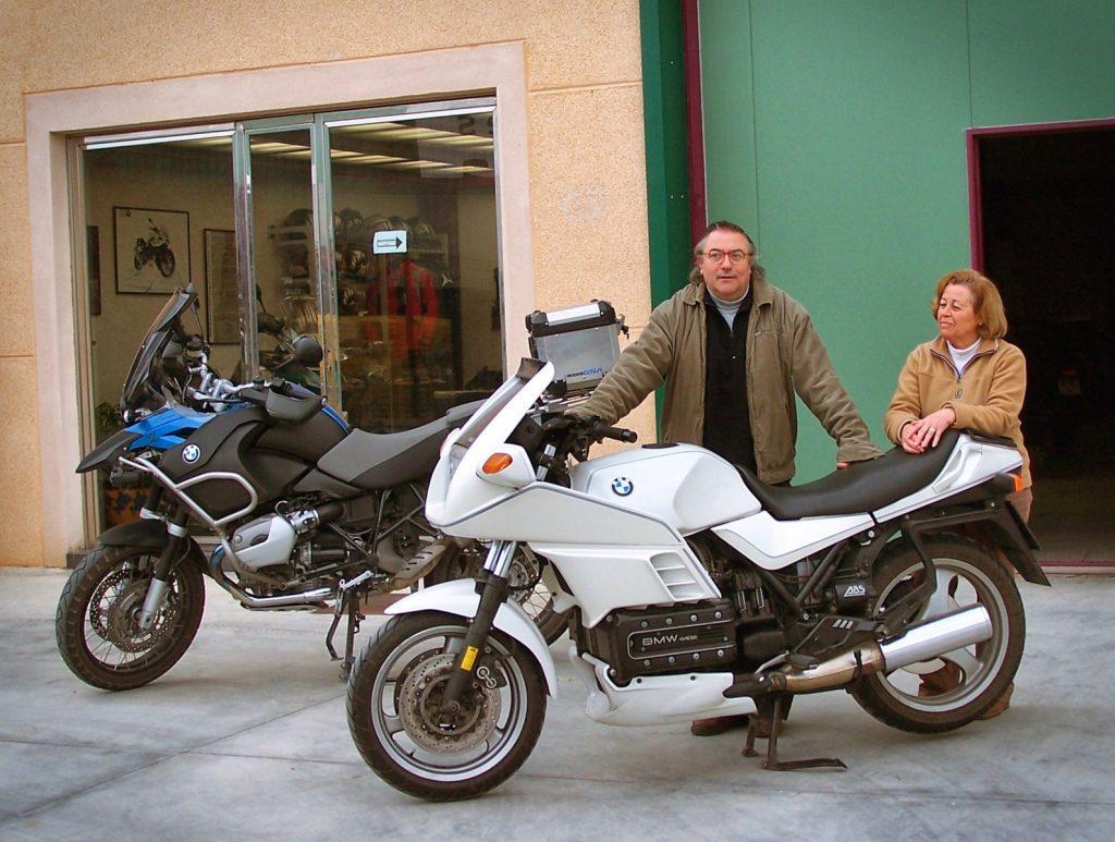 Todas las motos de la isla os van a echar de menos.