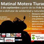 Matinal motera solidaria Tiurana