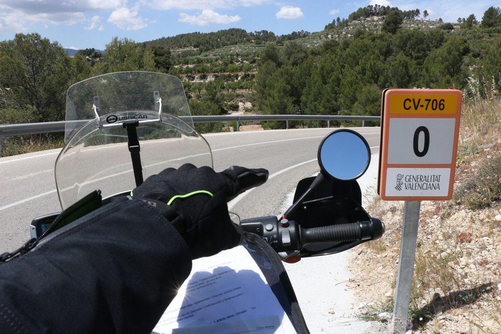 La prueba mototurística discurrirá por las reviradas carreteras del interior de Alicante.