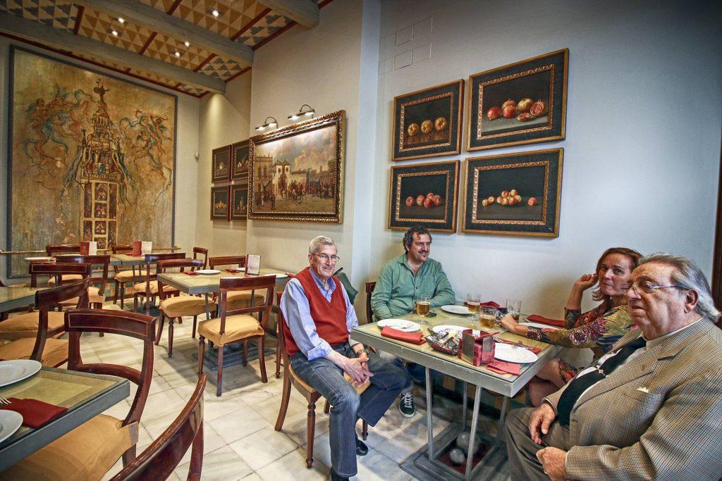 Becerrita, un restaurante de culto en Sevilla.
