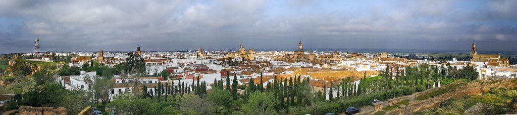 Vista de Carmona desde el Alcázar Rey Don Pedro